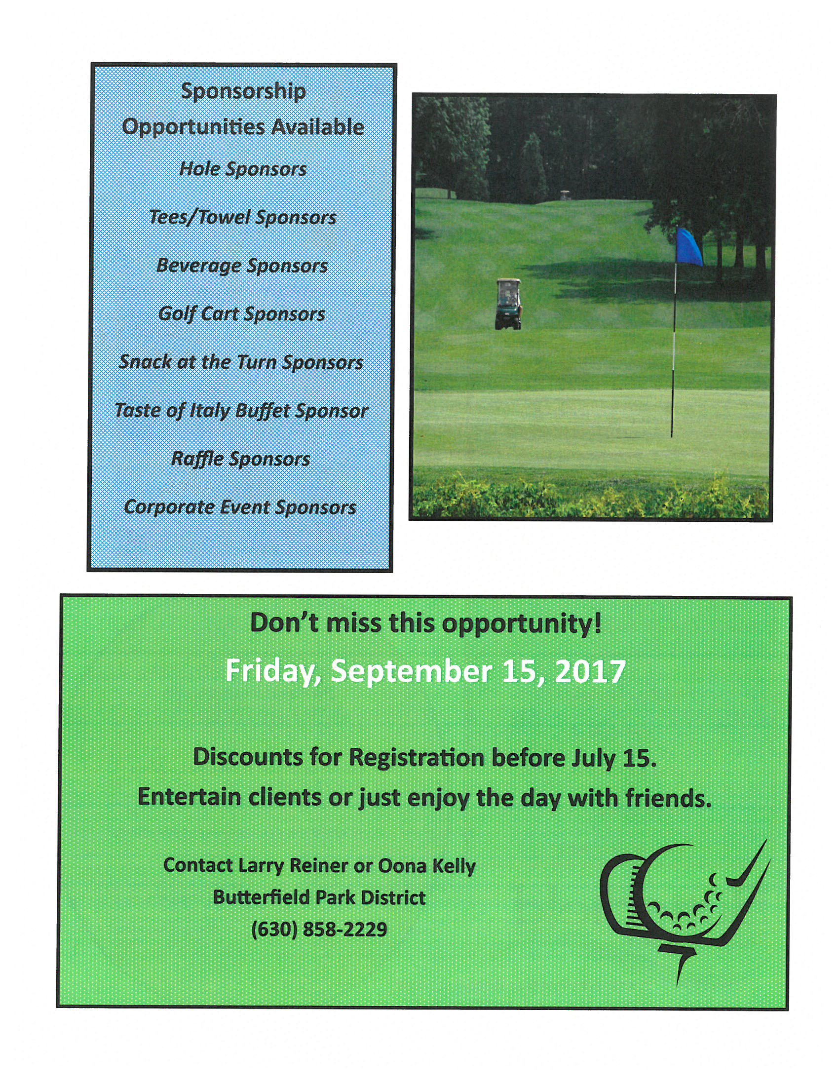 Butterfield Golf Classic Invitation 2017 Page 2