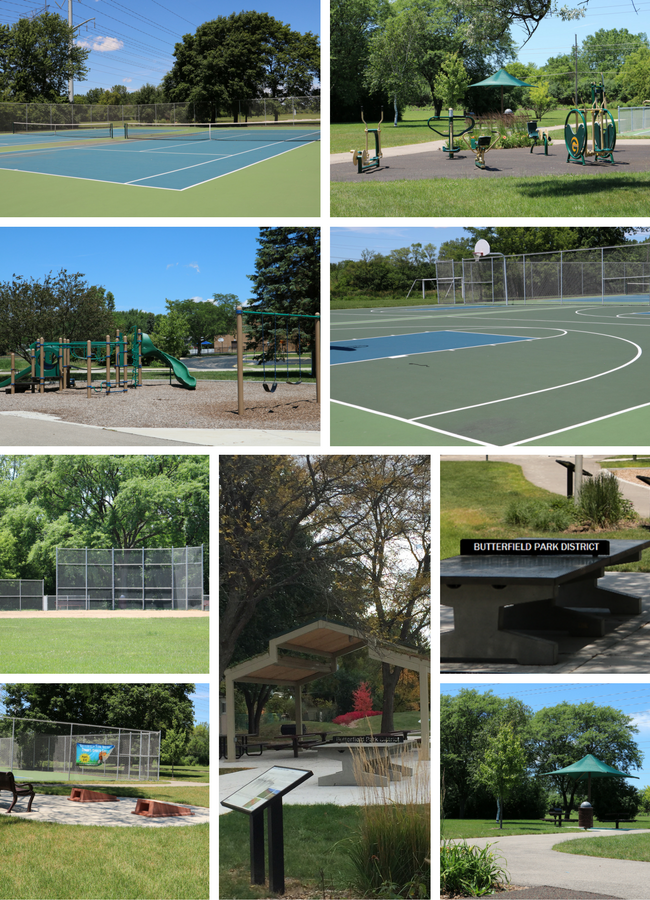 Hoffman Park Collage